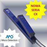 NEW CX Area Sensors from Micro Detectors