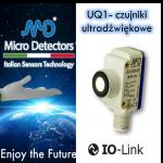 Kostkowe czujniki ultradźwiękowe serii UQ1 Micro Detectors